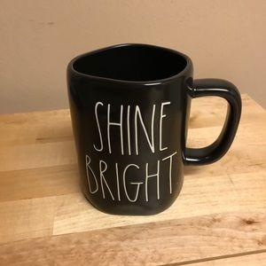 "Beautiful New Rae Dunn ""Shine Bright"" Mug"